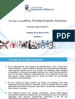 Capitulo 4 Ventaja Competitiva, Rivalidad Ampliada, Amenazas. ( 20.04.17)