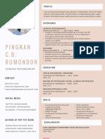CV Pingkan Rumondor 2017