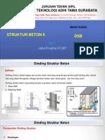 Dinding Struktur Beton (materi shear wall)