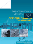 The International Classification for Seasonal Snow on the Ground