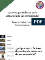 Factoresinfluyenestructuracomunidades