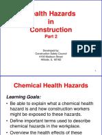 Health Hazards Construction Pt2