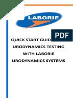 Quick Start Guides for Urodynamics Testing V06(MAN247)