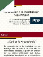 12 La Investigación Arqueológica