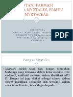Myrtaceae Farmasi C