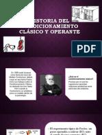 Historia Del Condicionamiento Clásico y Operante