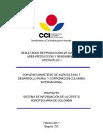Informe Algodón Región Interior 2011