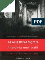 Alain Besancon-Anatomia Unei Stafii