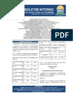 Boletim Interno Nº 27 - 27 de Junho de 2016