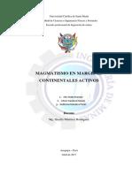Magmatismo en Margenes Continentales I