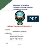 Ejercicon de Investigacion Administracion de Operacion - Programacion