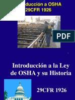 Presentacion Curso Entrenador Normas Osha