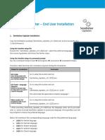 Sennheiser Updater Installation End User Guide
