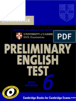 CAMBRIDGE 2010 Preliminary.english.test.6 168p