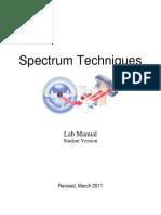 Student Manual 2011