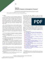 ASTM D86-11a (Metodo de Prueba Estandar Para Destilación de Productos Del Petroleo a Presión Atmosferica)