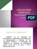 ASOCIACIONES SINDICALES