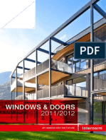 Internorm Windows Doors2012