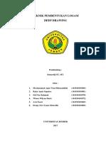 COVER MAKALAH Pembentukan Logam