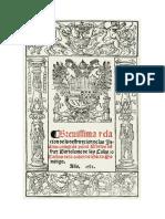 Bartolomé de las Casas, Destrucción de las Indias (portada)