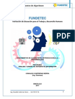 Material de Estudio 1 - Estructuras Secuenciales