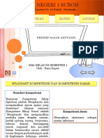 PPT Prinsip Dasar Akutansi
