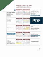 Calendario Academico UTN 2017 2018