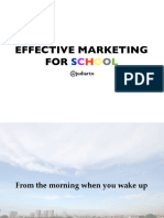 Effective Marketing for School - Compact Version
