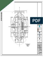 建029-0.00米标高核心筒平面图2014.04-Model