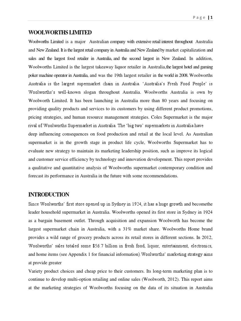 final report retail supermarket rh scribd com bargain basement appliance outlet Bargain Basement in Georgia