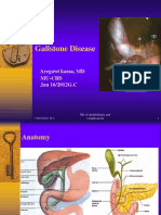 Diseaseses of Gall Blader