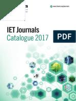 IET Journals 2017 Web