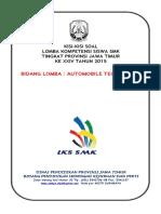Kisi-kisi Lks Bid. Automobile Technology 2015