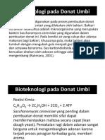 Bioteknologi Pada Donat Umbi