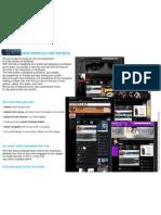 MySpace Music Artist Sites Design Guide