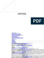 George w Romney