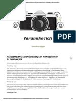 Perkembangan Industri Jasa Konstruksi Di Indonesia _ Taramikacich