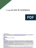 Prophet Seer & Revelations