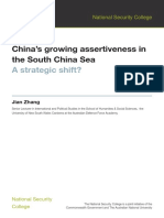 China Assertiveness