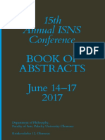 ISNS 2017 Book of Abstracts