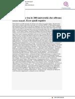 Sette italiane tra le 200 che offrono corsi online. ecco quali - Agi.it, 6 novembre 2017