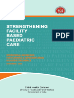 Strenghtening Facility Based Paediatric Care-Operational Guidelines