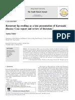 Recurrent lip swelling as a late presentation of kawasaki disease.pdf