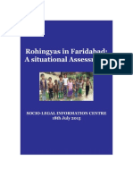 Assessment Report Rohingyas in Faridabad