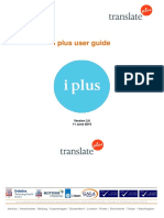 i Plus User Guide v3.6 - 12 Jun 15 - JT