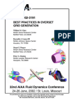 Rogers S Best Practices in Overset Grid Generation