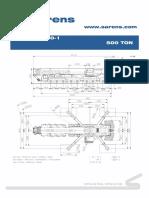 Crane Dimensions Terex AC-500