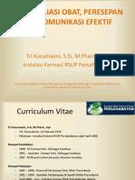 REKONSILIASI OBAT, PERESEPAN dan  Komunikasi Efektif.pdf