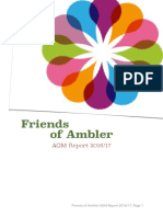 Friends of Ambler - AGM Report - November 2017