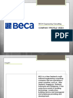 Creative Presentation Sheet | BECA Company
